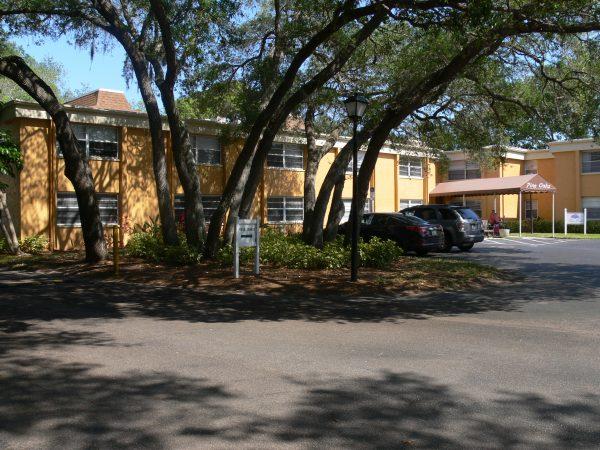 Pine Oaks Entrance