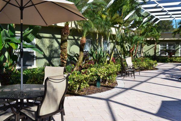 Garden Patio Oasis