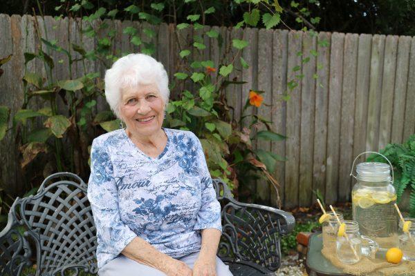 Senior Resident outside