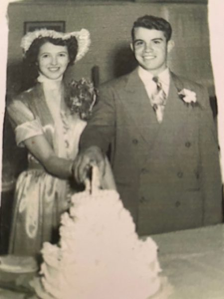 Don and Joan in 1950